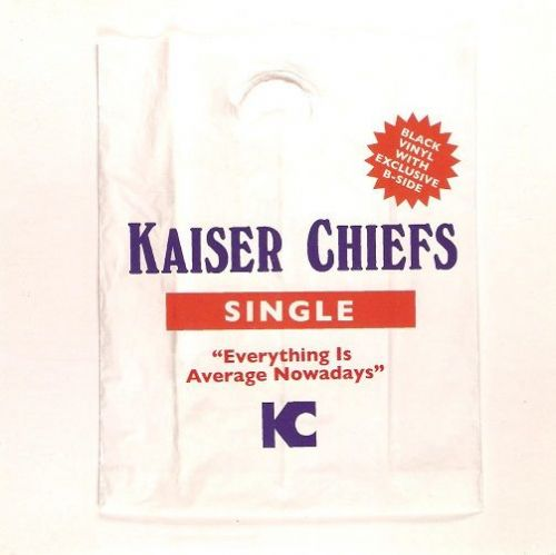 KAISER CHIEFS Everything Is Average Nowadays Vinyl Record 7 Inch B-Unique 2007